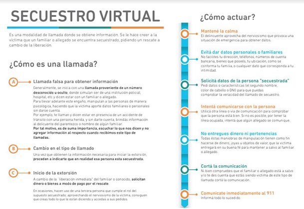 Secuestro virtual
